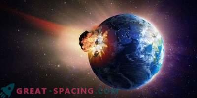 Życie może się odrodzić po trafieniu asteroidy. Nowe badania