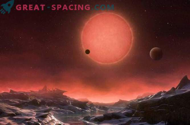 Trzy planety znalezione na orbitach pobliskiej gwiazdy