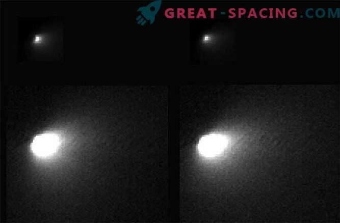 NASA je na Zemljo prenesla prve fotografije kometa Siding Spring