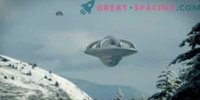 Kakšen neidentificiran predmet se je pojavil na nebu Anchorage blizu baze ameriških letalskih sil. Video