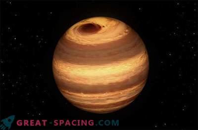 Suur Jupiter - kui torm murdub külmale