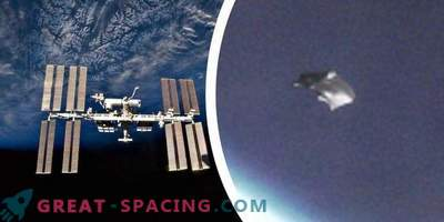 "Unidentified object or ""cosmic dandruff near the ISS. Opinion of experts and ufologists"