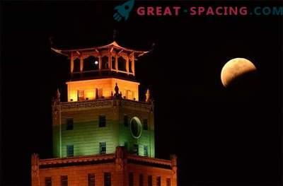 Ett urval av de bästa bilderna av månförmörkelsen