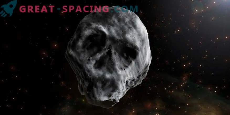 Ein unheimlicher kosmischer Schädel fliegt zur Erde. Ist ein Asteroid gefährlich für unseren Planeten?