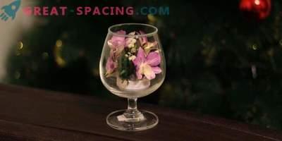 Живи естествени цветя в стъкло - красота и вечност!