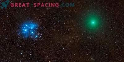 Cometa, meteora, nebulosa e Pleiadi in una foto epica