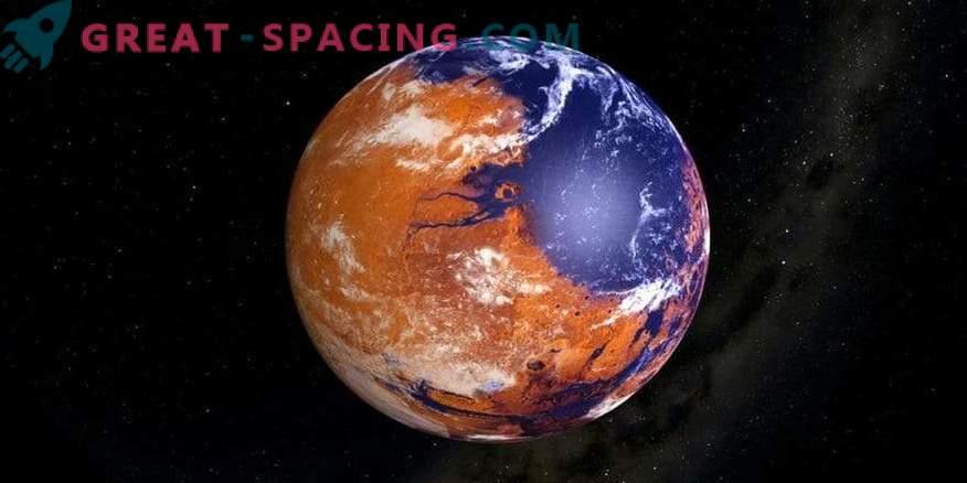 Młody i mokry Mars walcował obok Wenus?