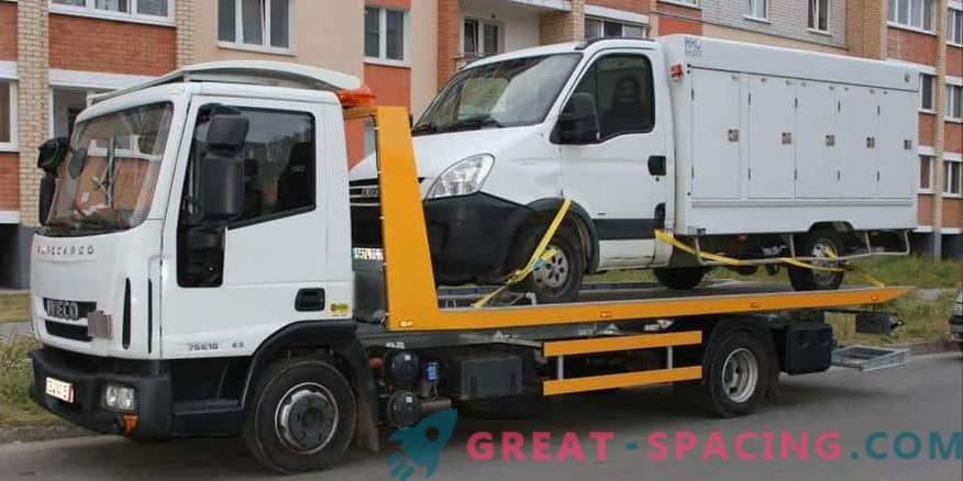 Chiamare rapidamente e facilmente un carro attrezzi a Nizhny Novgorod