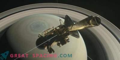 Cassinijeva misija se pripravlja na končno