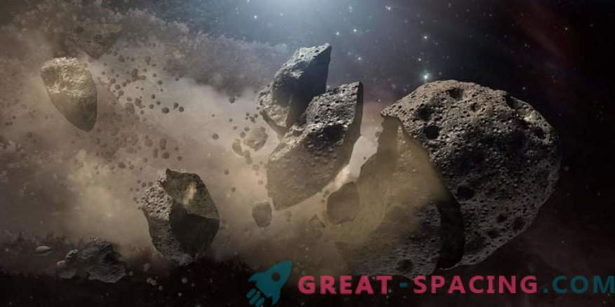 Found the oldest asteroid family