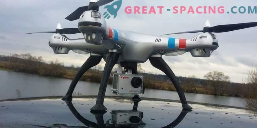 Serija modelov Quadcopter s kamerami