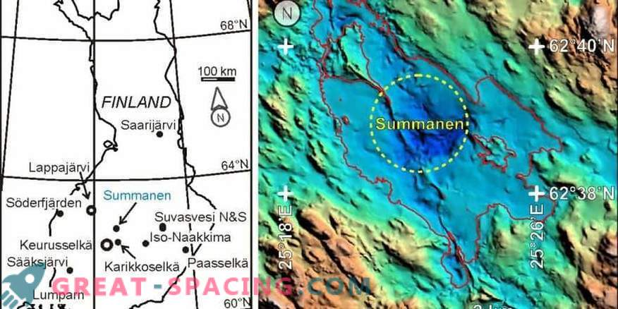 A new shock structure was found in Finland