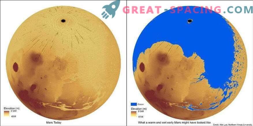 Kui palju vett kulub Marsi orude täitmiseks?